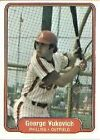 1982 Fleer George Vukovich #262 Baseball Card