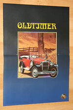 Oldtimer very rare retro mini Poster 30x41cm