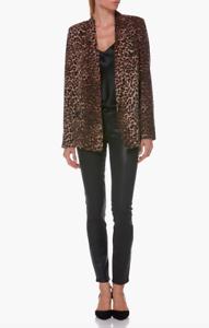 Paige -- Karissa Blazer, Natural Leopard, Size SMALL