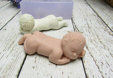 """Silicone Mold Little Baby """"Pip"""" for Fondant, Polymer Clay, Cake Decorating, etc."""