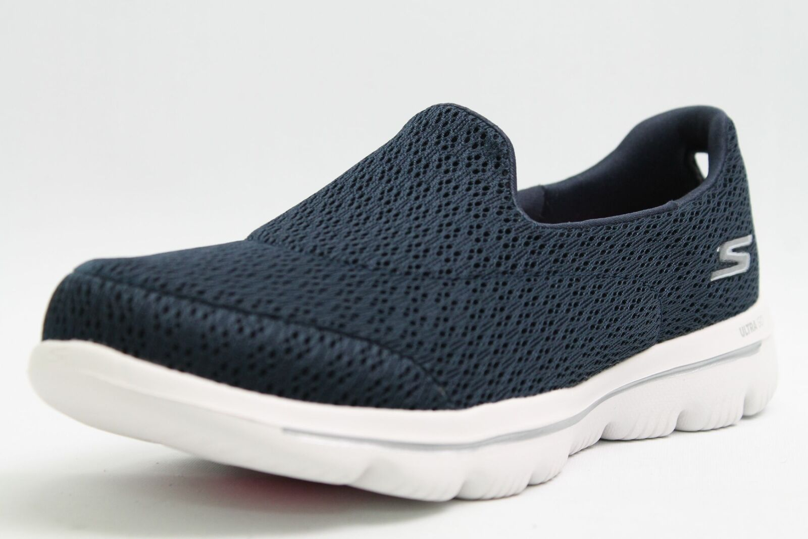 Skechers Schuhe blau Meshgewebe atmungsaktiv ultra go Air-Cooled Damen Turnschuhe