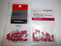 Radio Shack 6403114 (lot-of-2) Ring Tongue Terminals 6 (22-18 Ga) 16-pack