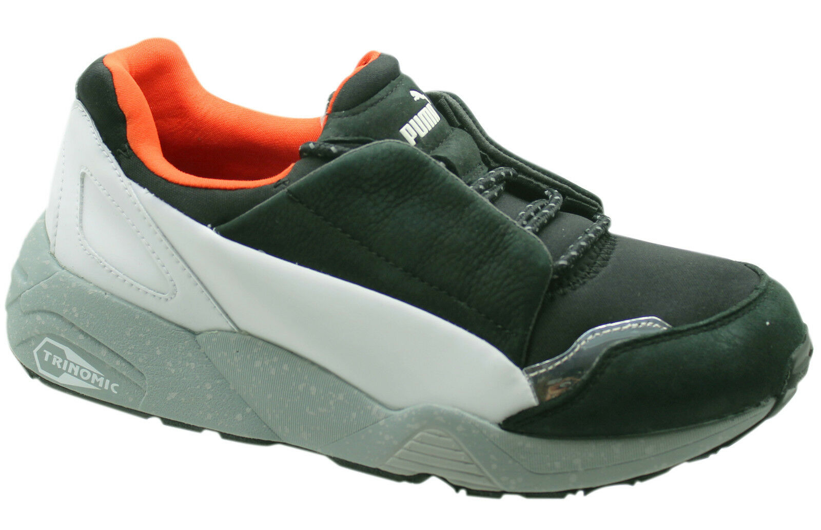 Puma Trinomic MCQ Alexander McQueen Lace Black Mens Trainers 359508 01 D73