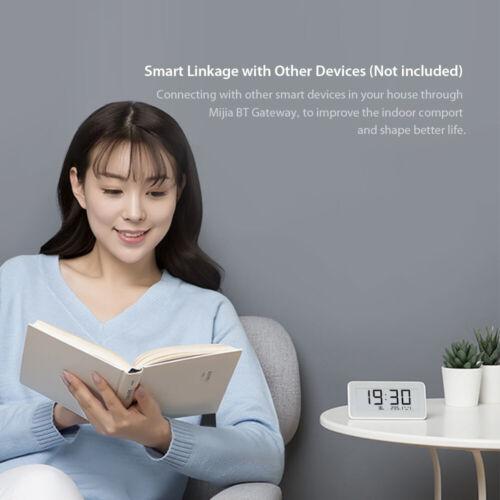 Xiaomi Mi Multifunctional Digital Clock E-INK Screen Temperature Humidity E8G4