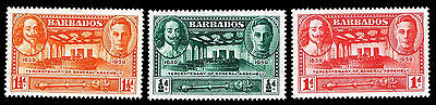 Vf Assembly e#9770 Regular Tea Drinking Improves Your Health Reliable 1939 Barbados #202-204 300th Ann Ogvlh Of Gen $6.30