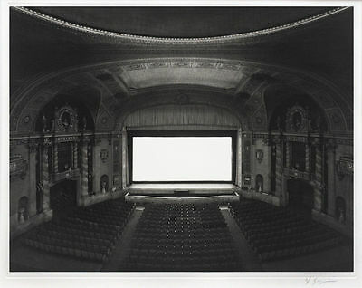 Hiroshi Sugimoto Theaters Set of 2; Signed UA Walker Ltd Ed. 1000 + Ltd Ed Book