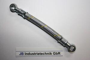 Kraftstoffleitung 35 cm Öse 12mm 90° Kraftstoffschlauch Dieselleitung