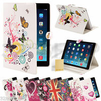 Brand New Apple iPad 5 Air Smart Cover Standby Case + Screen Protector & Stylus