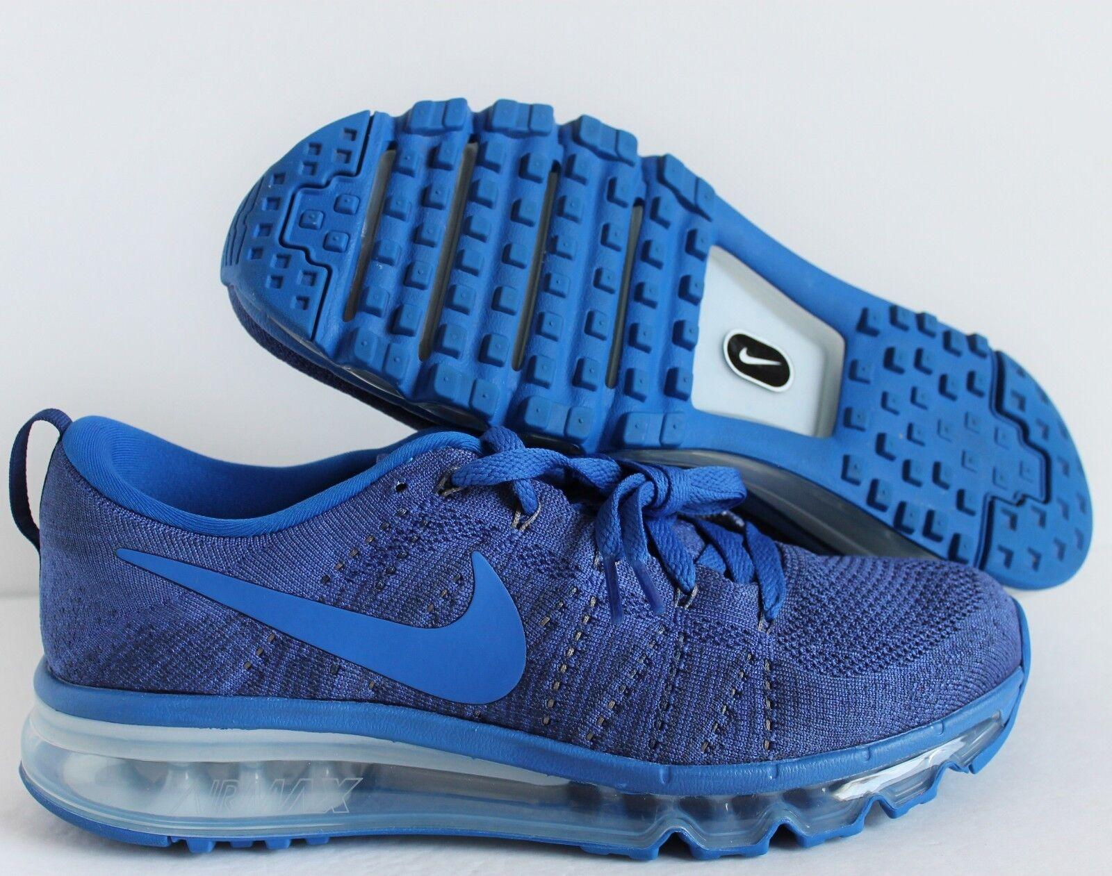 Nike Men's Air Max Flyknit ID bluee-Grey SZ 8