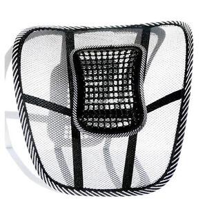 Asiento soporte de espalda lumbar cojin para silla de oficina o de ...