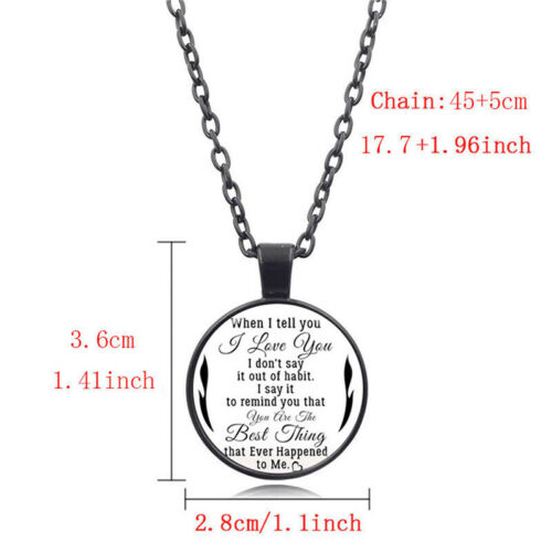 Unisex Charm Gemstone Round Long Sweater Chain Necklace Pendant Jewelry Gift Z