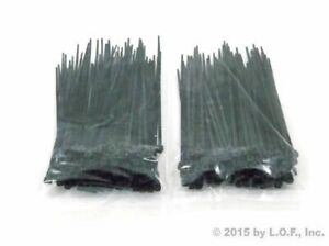 """Black 8/"""" Inch UV Resistant Nylon Cable Zip Wire Tie 50 lbs 300 Pack Lot Pcs"""