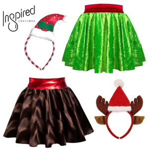 Children/'s Girls GRINCH Christmas Costume Skirt DANCE COSTUME World Book Day