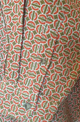 BNWT XLARGE Retro Men/'s Shirt 70/'s Gold//Orange Funky Vintage Disco Easy Jeans