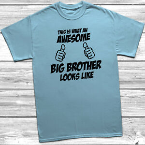 370fe061702a Awesome Big Brother Looks Like Kids T-Shirt Gift Boys Brother ...