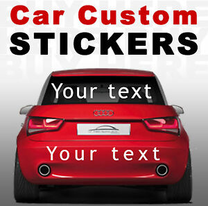 Personalised custom car stickers buy here text graphics Custom car designer online