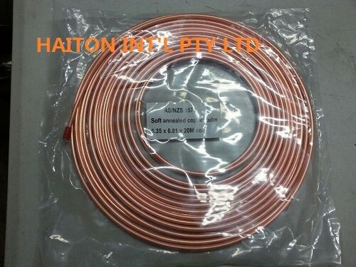 """copper pancake coil  3//8/"""" x 5M roll,air conditioning pipe tube"""