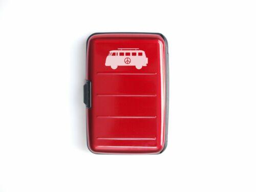 Metafun Aluminium Wallet Decal options available Credit Card Holder RFID