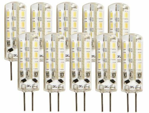 LED Mini G4 Stiftsockel Stift Lampe 120lm 10x36mm tagesweiß 4000K 10er PACK