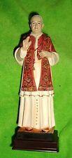 "ST POPE SAINT JOHN XXIII Holy Catholic Devotional Statue 8 1/2"" "" THE GOOD POPE"""