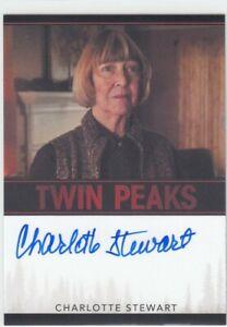 2018-Charlotte-Stewart-Betty-Briggs-Twin-Peaks-AUTO-AUTOGRAPH-Limited
