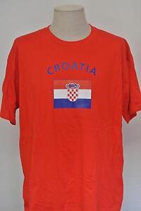 Kroatien-Croatia-Unisex-Fun-T-Shirt-Fasching-Mallorca-Funshirt-Fussball-WM-EM