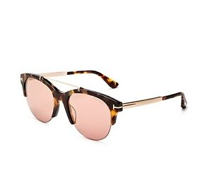 Image is loading Tom-Ford-Adrenne-Sunglasses-FT0517-56Z-Havana-Frame- 987eaee1e4
