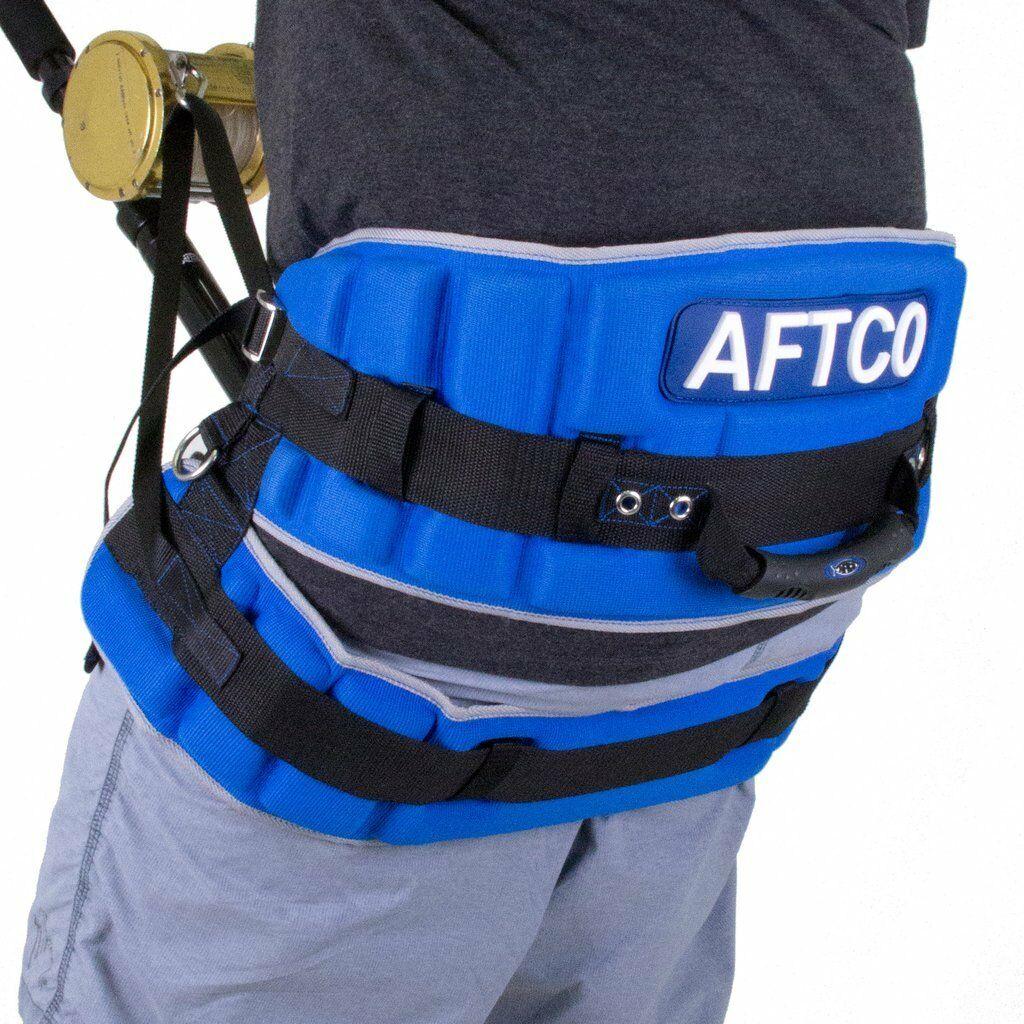 AFTCO Maxforce XH Stand Up Fishing Harness- 50-Unlimited Class-HRNS1XH-Free Ship