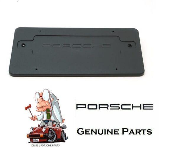 Genuine 99670110700 License Plate Bracket