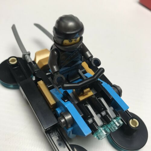 Lego Ninjago Nya's Hover Bike Minifigure Ninja Battles New And Sealed Build Gift