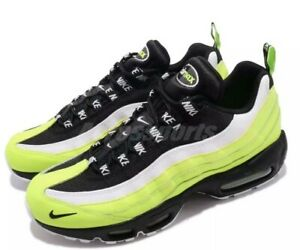Details about NWT Mens Nike Air Max 95 Premium Running Shoes Black 538416 701 SZ 10.5