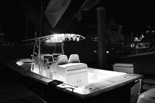 4X White LED Boat Light Waterproof High Power Light Outrigger Spreader Transom