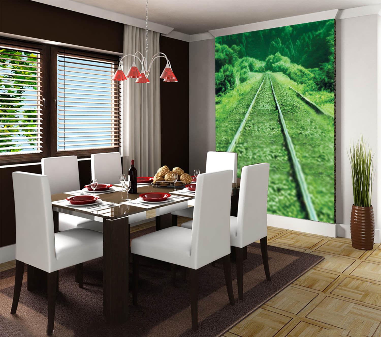 3D Grüne Spur Natür 57 Tapete Tapeten Mauer Foto Familie Tapete Wandgemälde DE