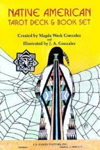 New, Native American/Tarot Cards and Book, Gonzalez, Magda Weck, Book