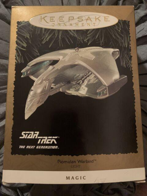 NIB 1995 Star Trek Next Generation Romulan Warbird Hallmark Keepsake Ornament*H