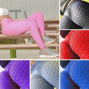 Women-Scrunch-Push-Up-Leggings-Yoga-Pants-Sports-Anti-Cellulite-Running-Trousers