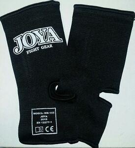 JOYA-Ankle-Support-Model-Black-L-XL-Baumwolle-Elastan-Muay-Thai-Kickboxen
