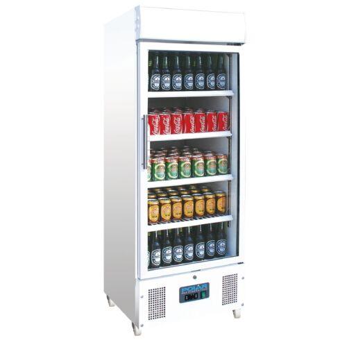 DM075 Gastronomie Getränkekühlschrank mit Glastür Kühlschrank Gewerbekühlschrank