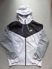 100% Auth Nike NSW Sportswear Windrunner Jacket Black/White sz XS [727324-101]