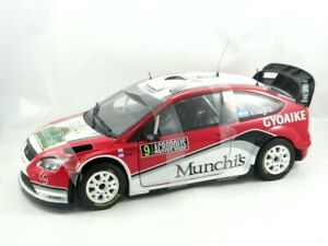 Sun-Star-Ford-Focus-RS-WRC08-Die-cast-car-model-in-scale-1-18-New-in-Box