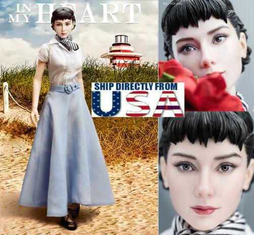 1//6 Audrey Hepburn Roman Holiday Female Figure Premium Full Set USA IN STOCK