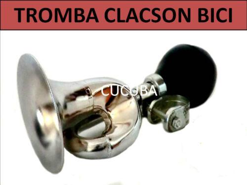 2 TONALITA/' 01 TROMBETTA CLACSON CAMPANELLO TROMBA BICI MOTO BICICLETTA