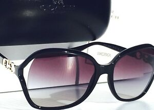 NEW-Coach-Designer-L948-BLACK-GOLD-Kissing-C-039-Grey-Gradient-Women-039-s-Sunglass