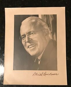David-L-Lawrence-Pennsylvania-Governor-amp-Pittsburgh-Mayor-signed-Photograph-COA