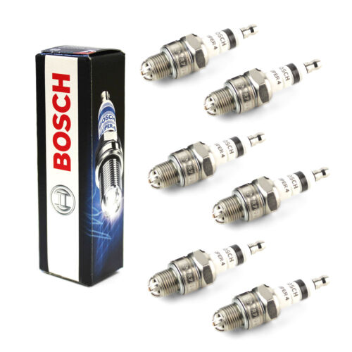 6x Fits Nissan 300 ZX 3.0 Turbo Genuine Bosch Super 4 Spark Plugs