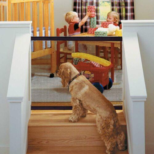 1-10 Pack Magic Mesh Pet Dog Gate Door Barrier Safe Guard Fence Enclosure USA