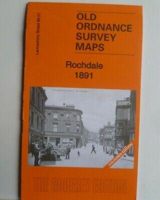 Old Ordnance Survey  Detailed Maps Blackrod Lancashire 1907 Godfrey Edition