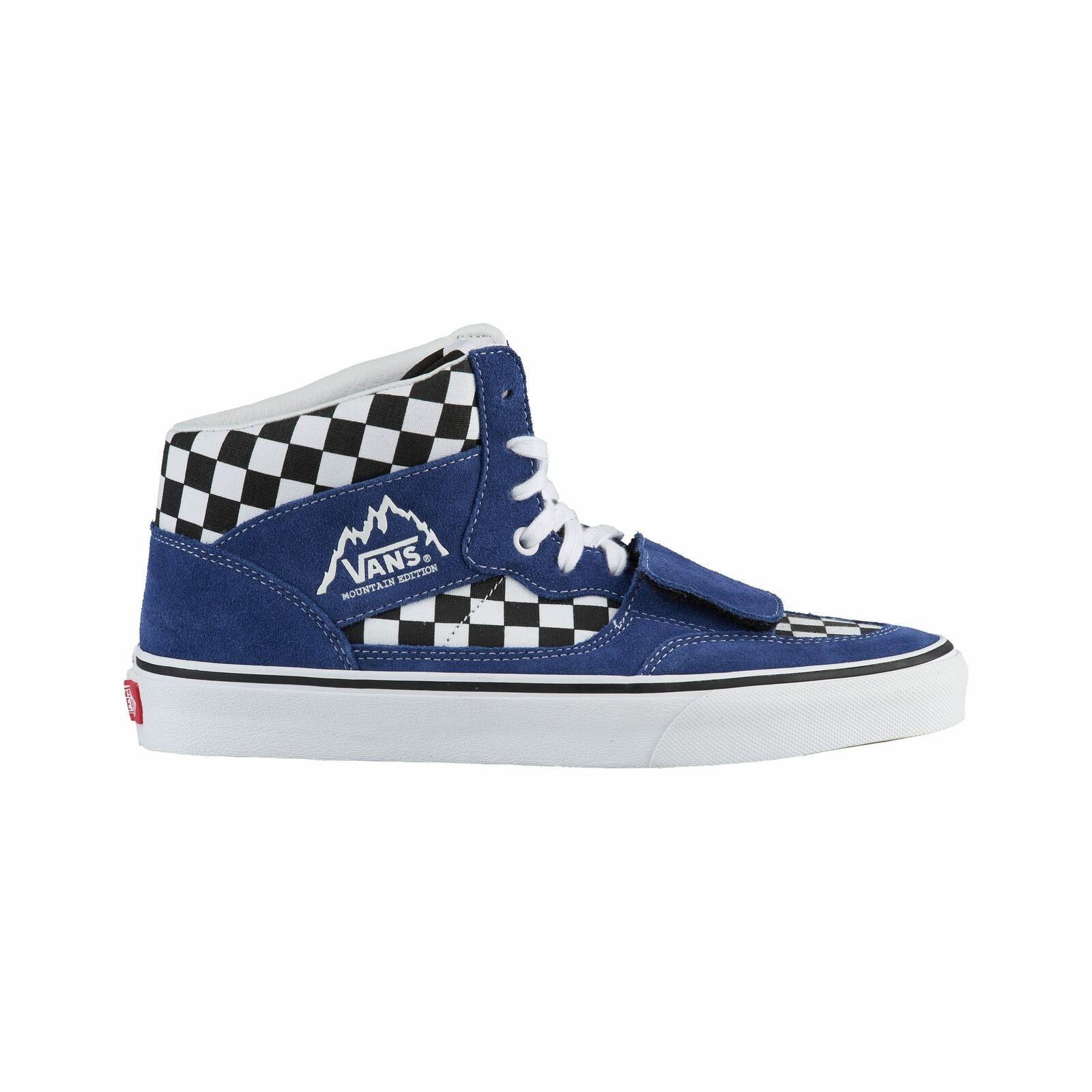 Vans Mountain Edition - Men's bluee Black Checkerboard A3TKGU9H