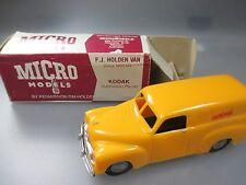 """Micro Models: F.J. Holden Van """"Kodak"""" Australien  , 1:43 Scale (GK110)"""