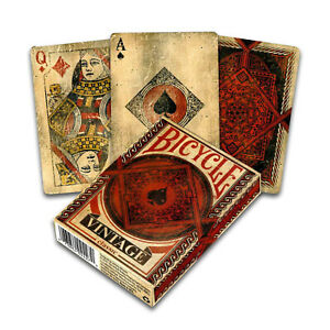 Bicycle-VINTAGE-Classic-playing-cards-Standard-index-Poker-Magic-USPCC-Deck-USA